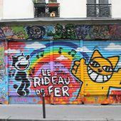 Montmartre. Street Art. (1) 2016 (M.le chat. The sheepest. Cyclop. Servoz.....) - Montmartre secret