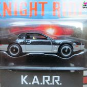 K.A.R.R KNIGHT RIDER K2000 PONTIAC FIREBIRD 1989 RETRO ENTERTAINMENT HOT WHEELS 1/64 SERIE TV AVEC DAVID HASSELHOFF - car-collector.net