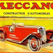 CARTE POSTALE MECCANO CONSTRUCTEUR D'AUTOMOBILES - car-collector.net