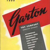 CATALOGUE GARTON TOY COMPANY 1953 - VOITURES A PEDALES - car-collector