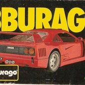 LISTE DES CATALOGUES BURAGO - CHOISISSEZ L'ANNEE DE VOTRE CATALOGUE BURAGO - car-collector.net