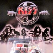 A-OK FORD MODEL A GROUPE DE HARD KISS DECADES OF DECIBELS 1973/2013 HOT WHEELS 1/64 - car-collector