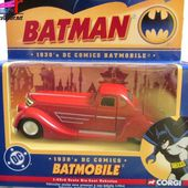 BATMOBILE 1930 BATMAN DC COMICS CORGI 1/43 - car-collector.net