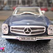 MERCEDES 280 SL ROADSTER CARARAMA 1/43 280SL - car-collector.net