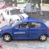 PEUGEOT 206 XS GENDARMERIE NATIONALE CARARAMA 1/43 - 206XS - car-collector