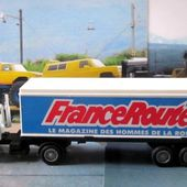CAMION RENAULT G260 TURBO FRANCE ROUTES LE MAGAZINE DES HOMMES DE LA ROUTE SOLIDO - car-collector