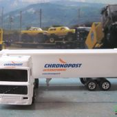 CAMION VOLVO CONTAINER CHRONOPOST INTERNATIONAL MAJORETTE 1/100 - car-collector