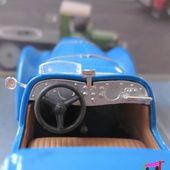 FASCICULE N°8 PEUGEOT 302 DARL'MAT PEINTURE BLEUE NOREV 1/43 - car-collector