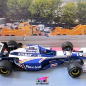 F1 WILLIAMS RENAULT FW 18 1996 JACQUES VILLENEUVE MINICHAMPS 1/43 - car-collector