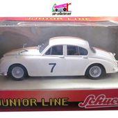 JAGUAR MK2 RALLYE #7 SCHUCO 1/43 - car-collector.net