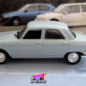 FASCICULE N°10 PEUGEOT 204 BERLINE BLEU CLAIR NOREV 1/43 - car-collector.net