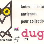 CATALOGUE DUGU 1966 - car-collector