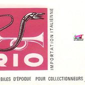 CATALOGUE RIO 1966 IMPORTATION ITALIENNE - car-collector