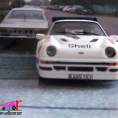 FASCICULE N°37 FORD RS 200 1986 SWEDEN RALLY IXO 1/43 - car-collector