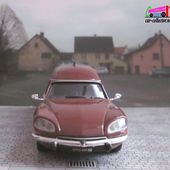 FASCICULE N°12 CITROEN DS FOURGON TISSIER BAGAGERE 1973 UNIVERSAL HOBBIES 1/43 ALTAYA - car-collector.net