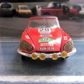 CITROEN DS 21 RALLYE DU MAROC ELIGOR 1/43 POUR LA COMPAGNIE EUROPEENNE DES COLLECTIONNEURS - car-collector