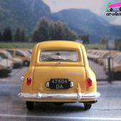 FASCICULE N°6 SIMCA ARONDE P60 MESSAGERE UNIVERSAL HOBBIES 1/43 - car-collector