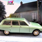 CITROEN GSA BREAK 1980 PROVENCE MOULAGE 1/43 - car-collector