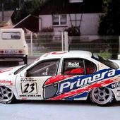 NISSAN PRIMERA GT VODAFONE BTCC 98 COUPE D'ANGLETERRE ANTHONY REID ONYX 1/43 - car-collector
