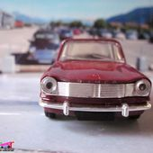 FASCICULE N°42 SIMCA 1501 1967 BORDEAUX NOREV 1/43 - car-collector.net