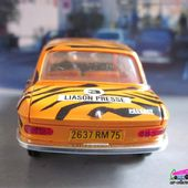PEUGEOT 204 BERLINE TIGRE ESSO AQUAVIT 1/43 - car-collector