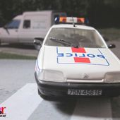 FASCICULE N°21 CITROEN ZX POLICE 1992 NOREV 1/43 - car-collector