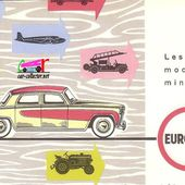 CATALOGUE C.I.J 1960 - CATALOGUE EUROPARC 1960 - car-collector