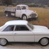 PEUGEOT 204 COUPE 1967 STARTER PROVENCE MOULAGE 1/43 - car-collector