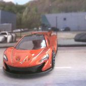 MC LAREN P1 HOT WHEELS 1/64 - MAC LAREN P1 - car-collector