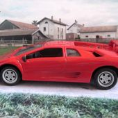 FASCICULE N°25 LAMBORGHINI DIABLO UNIVERSAL HOBBIES 1/43 - car-collector