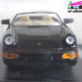 FASCICULE N°9 PORSCHE 911 CARRERA 4 1989 CABRIOLET UNIVERSAL HOBBIES 1/43 - car-collector