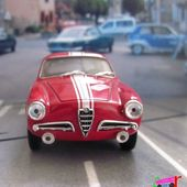 ALFA ROMEO GUILIETTA SPRINT 1957 5e TOUR DE CORSE SOLIDO 1/43 - car-collector