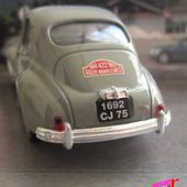 PEUGEOT 203 1954 RALLYE MONTE CARLO SOLIDO 1/43 - car-collector