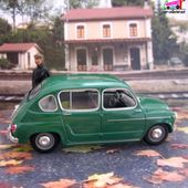 FASCICULE N°133 SEAT 800 1964 SOLIDO 1/43 - car-collector