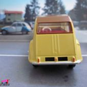 FASCICULE N°2 CITROEN 2CV MODELE 61 DINKY TOYS REPRODUCTION ATLAS - car-collector