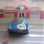 RENAULT ALPINE M63 LE MANS 1963 TOP MODEL COLLECTION 1/43 - car-collector