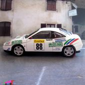 FIAT COUPE NUMERO 88 RALLYE MONTE CARLO 2000 TOP MODEL 1/43 - car-collector