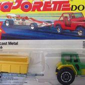 316-A TRACTEUR AVEC REMORQUE BLISTER DOUBLE MAJORETTE 1/65 - car-collector.net