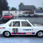 BMW 530 1977 MARC SOURD SOLIDO 1/43 - car-collector