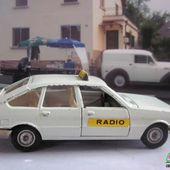 SIMCA 1308 GT TAXI RADIO SOLIDO 1/43 - car-collector.net