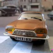 FASCICULE N°24 CITROEN GS 1971 MARRON METALLISE IXO 1/43 - car-collector