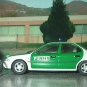 FORD GRANADA / CONSUL 1976 POLIZEI VANGUARDS 1/43 - car-collector.net