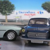 FASCICULE N°7 PEUGEOT 404 COMMERCIALE DINKY TOYS 1/43 REEDITION ATLAS - car-collector