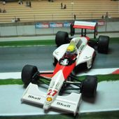 FORMULE 1 F1 MC LAREN HONDA AYRTON SENNA ONYX 1/43 - car-collector.net