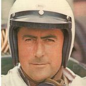 CARTE POSTALE PORTRAIT JACK BRABHAM PILOTE F1 1959-1960 - car-collector.net