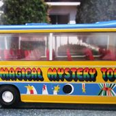 AUTOBUS BEDFORD VAL MAGICAL MYSTERY TOUR BUS THE BEATLES CORGI 1/36 - car-collector.net