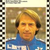 CARTE POSTALE JACQUES LAFFITE SAISON FORMULE 1 1986 - 1987 CPA F1 - car-collector.net