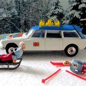 CITROEN DS ID 19 BREAK SAFARI WINTER OLYMPICS 1968 CORGI TOYS 1/45 - car-collector.net