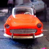 SIMCA OCEANE CABRIOLET ORANGE NOREV 1/43 - car-collector.net