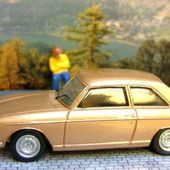 PEUGEOT 304 COUPE 1974 1/43 FABRICANT FLY - car-collector.net